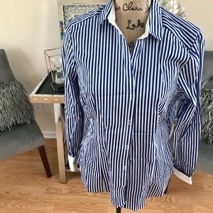 H&M Pinstripe Button Down Shirt